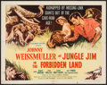 "Movie Posters:Adventure, Jungle Jim in the Forbidden Land (Columbia, 1951). Half Sheet (22""X 28""). Adventure.. ..."