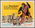 "Movie Posters:Science Fiction, Konga (American International, 1961). Half Sheet (22"" X 28"").Science Fiction.. ..."