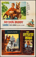 """Movie Posters:Adventure, The Littlest Hobo & Other Lot (Allied Artists, 1958). HalfSheets (2) (22"""" X 28""""). Adventure.. ... (Total: 2 Items)"""