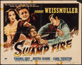 "Movie Posters:Adventure, Swamp Fire (Paramount, 1946). Half Sheet (22"" X 28"") Style A.Adventure.. ..."