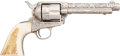 Handguns:Single Action Revolver, D.W. Harris Engraved Colt Single Action Army Revolver....