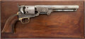 Handguns:Single Action Revolver, Gustave Young Engraved Colt Model 1851 Percussion RevolverPresented to Charles L. Robinson, 1st Governor of Kansas....