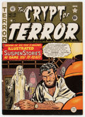 Golden Age (1938-1955):Horror, Crypt of Terror #19 (EC, 1950) Condition: VG....