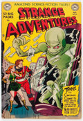 Golden Age (1938-1955):Science Fiction, Strange Adventures #10 (DC, 1951) Condition: FN....