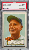Baseball Cards:Singles (1950-1959), 1952 Topps Jake Pitler #395 PSA NM-MT 8....