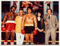 "Movie/TV Memorabilia:Photos, A Color Photograph by Neil Leifer from ""Rocky II,"" 1979...."