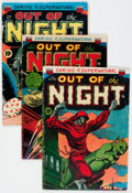Golden Age (1938-1955):Horror, Out of the Night #2, 5, and 7 Group (ACG, 1952-53).... (Total: 3Comic Books)