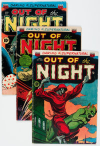 Out of the Night #2, 5, and 7 Group (ACG, 1952-53).... (Total: 3 Comic Books)