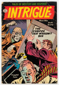 Golden Age (1938-1955):Horror, Intrigue #1 (Quality, 1955) Condition: GD/VG....