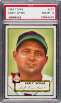 Baseball Cards:Singles (1950-1959), 1952 Topps Early Wynn #277 PSA NM-MT 8....