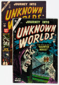 Golden Age (1938-1955):Horror, Journey Into Unknown Worlds #23 and 26 Group (Atlas, 1953-54)....(Total: 2 Comic Books)