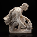 Fine Art - Sculpture, European:Antique (Pre 1900), Pierre-Auguste Renoir (French, 1841-1919) and Richard Guino(French, 1890-1973). Moyen Forgeron, 1915-16. Originalplast...