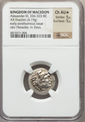 Ancients:Greek, Ancients: MACEDONIAN KINGDOM. Alexander III the Great (336-323 BC).AR drachm (4.19 gm)....