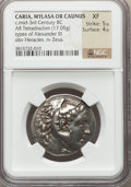 Ancients:Greek, Ancients: MACEDONIAN KINGDOM. Alexander III the Great (336-323 BC).AR tetradrachm (17.05 gm)....