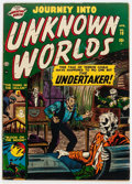 Golden Age (1938-1955):Horror, Journey Into Unknown Worlds #10 (Atlas, 1952) Condition: VG-....