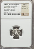 Ancients:Greek, Ancients: CARIAN ISLANDS. Rhodos. Rhodes. Ca. 205-189 BC. AR drachm(2.73 gm)....