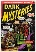 Golden Age (1938-1955):Horror, Dark Mysteries #15 (Master Publications, 1953) Condition: VG-....
