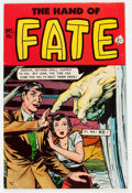 Golden Age (1938-1955):Horror, The Hand of Fate #8 (Ace, 1951) Condition: VG....