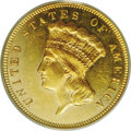 Three Dollar Gold Pieces: , 1881 $3 MS62 PCGS. Those who believe that the 1911-D quarter eagleis a low mintage issue need consider the 1881 three doll...