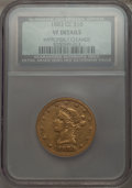 1883-CC $10 -- Improperly Cleaned -- NCS. VF Details. NGC Census: (4/150). PCGS Population (4/154). Mintage: 12,000. Num...