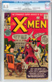 X-Men #2 (Marvel, 1963) CGC VF+ 8.5 White pages