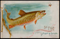 "Non-Sport Cards:Other, 1889 A7 (N8) Allen & Ginter ""Fish from American Waters"" Album...."