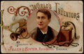 "Non-Sport Cards:Other, 1888-1890 A25 Allen & Ginter ""World's Inventors"" Album. ..."