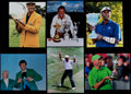 Golf Collectibles:Autographs, Senior Tour Golfing Greats Signed Photographs Lot of 6....