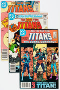 Modern Age (1980-Present):Superhero, New Teen Titans-Related Group of 43 (DC, 1980-84) Condition:Average VF/NM.... (Total: 43 Comic Books)