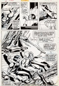 Original Comic Art:Panel Pages, P. Craig Russell and Jack Abel Fear #24 Page 7 Original Art(Marvel, 1974)....