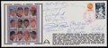 Baseball Collectibles:Others, 3000 Hit Club Members Multi Signed First Day Cover....