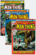Bronze Age (1970-1979):Horror, Man-Thing Related Group of 48 (Marvel, 1972-81) Condition: AverageFN/VF.... (Total: 48 Comic Books)