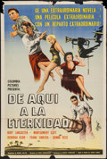 "Movie Posters:Academy Award Winners, From Here to Eternity (Columbia, 1954). Argentinean Poster (29"" X43""). Academy Award Winners.. ..."