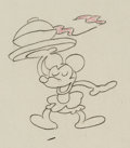 Animation Art:Production Drawing, Mouse Animation Drawing (Walter Lantz Productions, 1930s)....