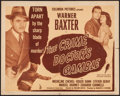 """Movie Posters:Mystery, The Crime Doctor's Gamble (Columbia, 1947). Half Sheet (22"""" X 28"""")Style A. Mystery.. ..."""