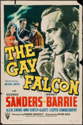 "Movie Posters:Mystery, The Gay Falcon (RKO, 1941). One Sheet (27"" X 41""). Mystery.. ..."
