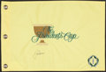 Golf Collectibles:Autographs, Jack Nicklaus Signed Presidents Cup Flag....