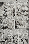 """Original Comic Art:Panel Pages, Iger Studios Mysteries #2 """"Monsters Three"""" Page 5 Original Art (Superior Publishers Limited, 1953). ..."""