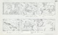"Original Comic Art:Miscellaneous, Jack Kirby Fantastic Four ""Blastaar the Living Bomb Burst""Storyboard #45 Original Animation Art (DePatie-Freleng,..."