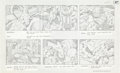 "Original Comic Art:Miscellaneous, Jack Kirby Fantastic Four ""Blastaar the Living Bomb Burst""Storyboard #47 Original Animation Art (DePatie-Freleng,..."