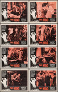 "Movie Posters:Crime, The Hand (American International, 1961). Lobby Card Set of 8 (11"" X14""). Crime.. ... (Total: 8 Items)"