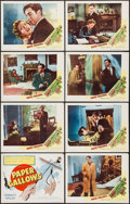 "Movie Posters:Mystery, Paper Gallows (Eagle Lion, 1950). Lobby Card Set of 8 (11"" X 14"").Mystery.. ... (Total: 8 Items)"