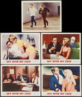"""Movie Posters:Action, The Spy with My Face (MGM, 1965). Lobby Card Set of 4 & International Lobby Card (11"""" X 14""""). Action.. ... (Total: 5 Items)"""