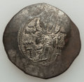 Ancients:Byzantine, Ancients: Manuel I Comnenus (1143-1180). BIL apsron trachy (4.75gm)....