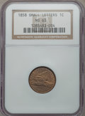 1858 1C Small Letters MS63 NGC. NGC Census: (187/367). PCGS Population (192/393). Numismedia Wsl. Price for problem free...