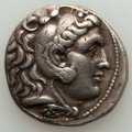 Ancients:Greek, Ancients: MACEDONIAN KINGDOM. Alexander III the Great (336-323 BC).AR tetradrachm (17.00 gm)....
