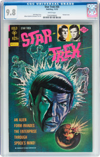 Star Trek #35 (Gold Key, 1975) CGC NM/MT 9.8 White pages