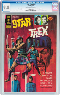 Star Trek #26 (Gold Key, 1974) CGC NM/MT 9.8 Off-white to white pages