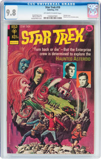 Star Trek #19 (Gold Key, 1973) CGC NM/MT 9.8 Off-white to white pages