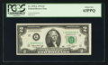 Small Size:Federal Reserve Notes, Low Serial Number 00000002 Fr. 1935-L $2 1976 Federal Reserve Note. PCGS Choice New 63PPQ.. ...